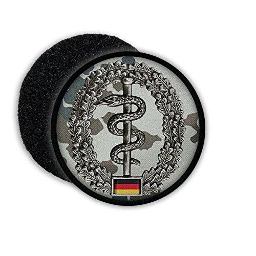 Copytec Patch BW Sanitäter ISAF Barett Abzeichen Einheit Bundeswehr Patch Tarnung Schlange Sani Artzt #20867