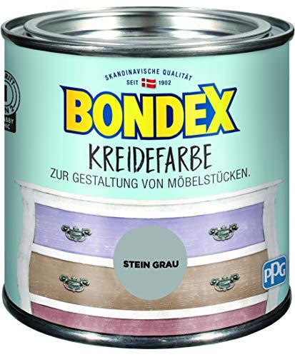 Bondex Kreidefarbe Stein Grau - 0,5L - 386526
