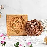 Coppapasta Rotondo Tagliapasta Aperta Tondo Stampi per Biscotti Formine Dolci Formine Rotonde,Rose