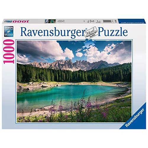 Ravensburger Puzzle, Puzzle 1000 Pezzi, Gioiello delle Dolomiti, Puzzle per Adulti, Puzzle Paesaggi, Puzzle Ravensburger - Stampa di Alta Qualità