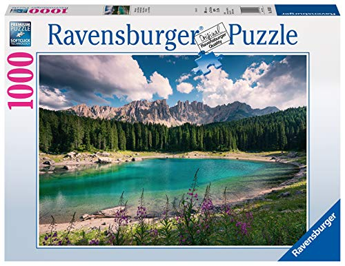 Ravensburger Puzzle Puzzle 1000 Pezzi, Gioiello delle Dolomiti, Puzzle per Adulti, Puzzle Paesaggi, Puzzle Ravensburger - Stampa di Alta Qualità