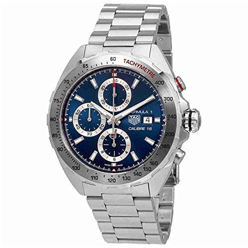 TAG Heuer Formula 1 Blue Dial Calibre 16 Chronograph Men's Watch CAZ2015.BA0876