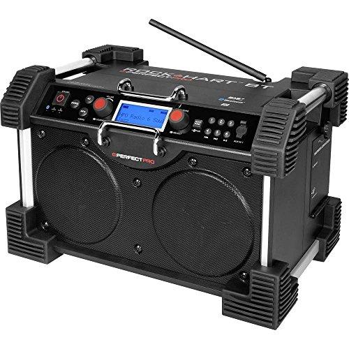PERFECTPRO ROCK HART Radiorekorder (MP3 )