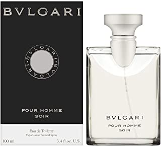 Pour Homme Soir by Bvlgari for Men - Eau de Toilette, 100ml