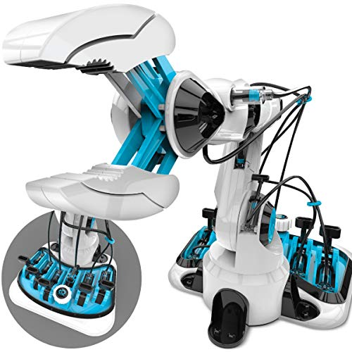 powerful Discovery Children's Toys DIY Hydraulic Robot Assembly Manipulator