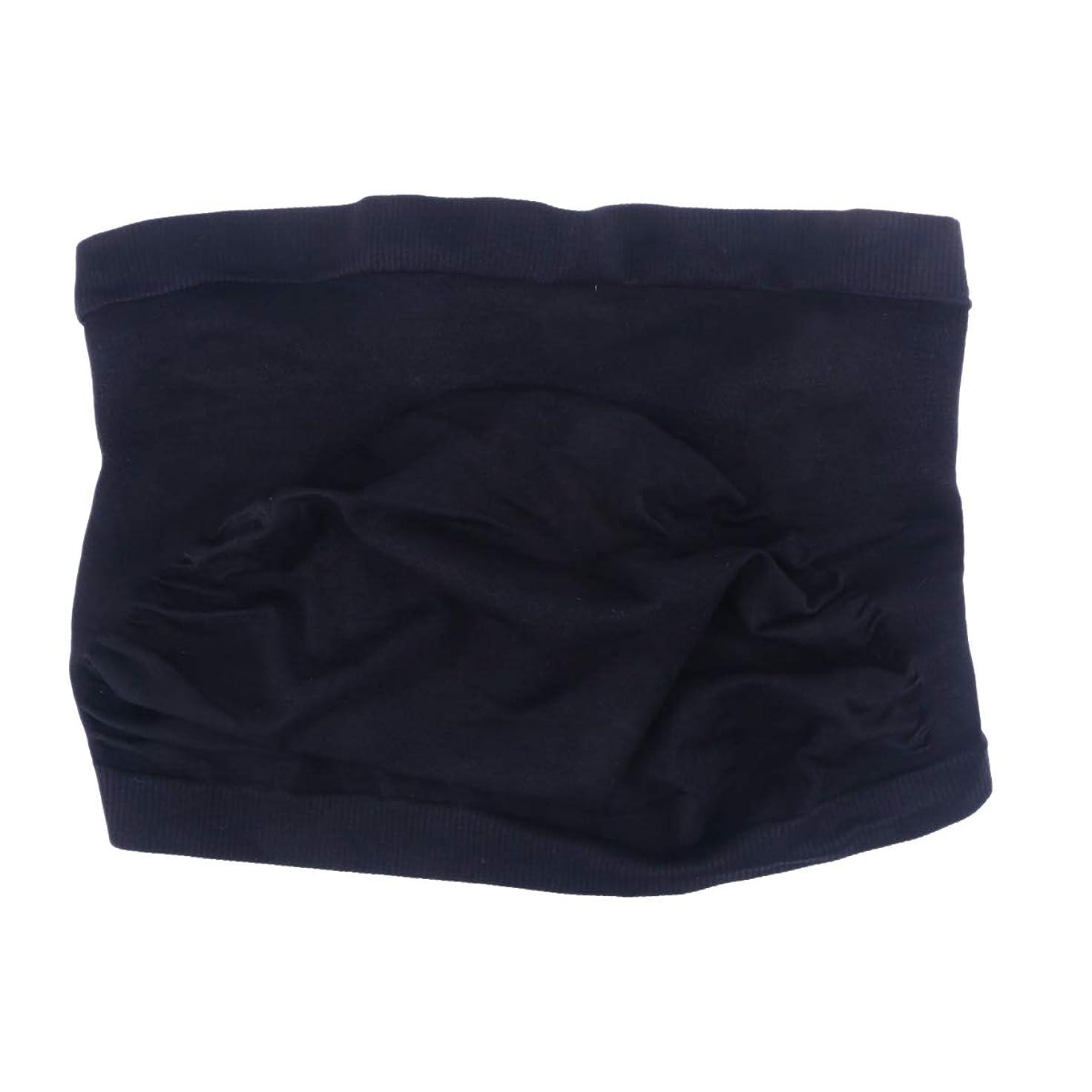 余韻バウンス圧力Healifty 妊婦 マタニティベルト 産前産後 腹部サポートベルト 骨盤ベルト 腰痛対策 冷房対策 通気性良 簡単装着 サイズL (黒)