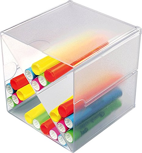 deflect-o Organiser-System CUBE/DE350201 glasklar Trennung X