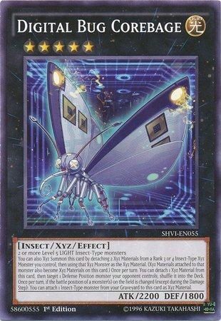 Yu-Gi-Oh! - Digital Bug Corebage (SHVI-EN055) - Shining Victories - 1st Edition - Common