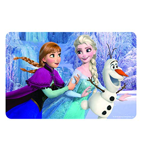 NEILDEN Disney Frozen Puzzles in a Metal Box 60 Piece Jigsaw Puzzle for Kids Ages 3+ for Children Learning Educational Puzzles Toys (Snowman) Authorized by Disney