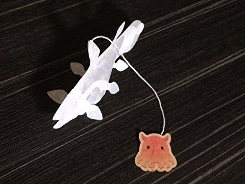 『シーラカンスのティーバッグ 4p入 バタフライピーブレンド』の3枚目の画像
