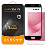 (2 Pack) Supershieldz for Asus (ZenFone 4 Max) (ZC554KL) 5.5 inch Tempered Glass Screen Protector, (Full Screen Coverage) Anti Scratch, Bubble Free (Black)