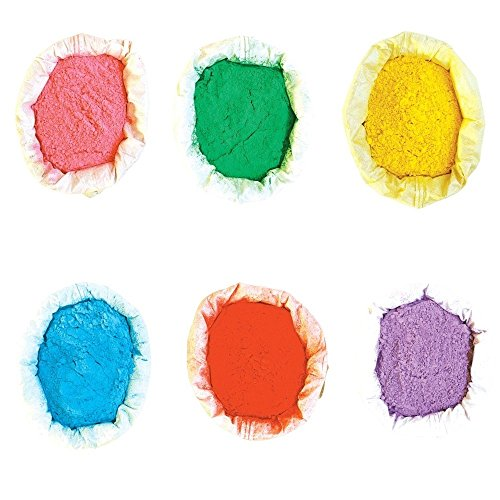 Holi Farben Pulver Holy Farbpulver 6er Pack | 6x 100g | verschiedene Farben verfügbar | Die...