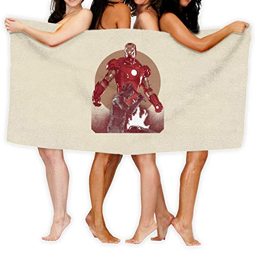 Iron Man Tribute Toalla de baño de secado rápido