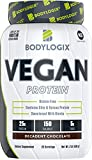 Bodylogix Vegan Protein Powder, NSF Certified, Decadent Chocolate, 2 Pound