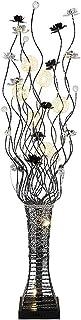 Lampadaires Lampadaire En Aluminium Fleur Standard Lampe for Salon Chambre Den Bureau Lampe Sur Pied, Lampadaires Vertical...
