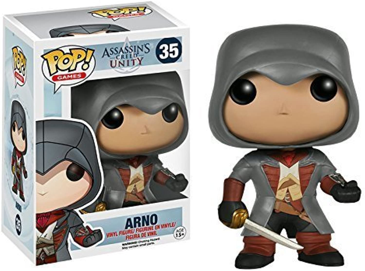 tiempo libre Assassin's Creed Unity Arno Pop  Vinyl Figura (35) (35) (35) by ABC  moda