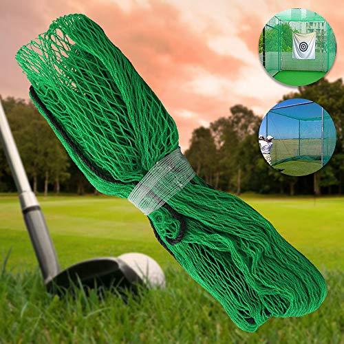 Relax love Red de golf (3 m x 3 m) para exteriores, red de pesca de golf, equipo de entrenamiento de golf, red de jardín