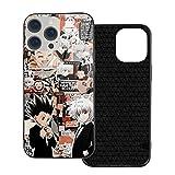Anime Hunter X Hunter Killua Zoldyck Gon Freecss, Urban iPhone 12 Pro Case with Soft TPU,Shock Absorption Anti-Fall Protective Case,Clear Hardcase for Apple iPhone 12 Pro