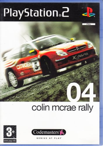 Colin Mcrae Rally 04-(Ps2)