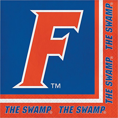 40 University of Florida Gators 2-ply Premium Lunch Napkins college football party tailgating