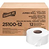 Genuine Joe - GJO2510012 2-ply Jumbo Roll Dispnsr Bath Tissue