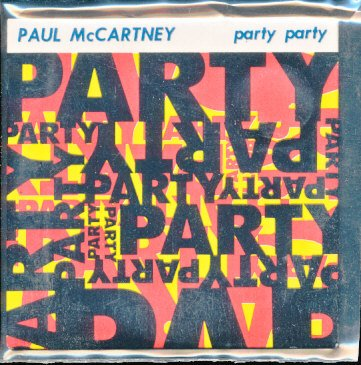Paul McCartney BEATLES Party Party UK CD 3