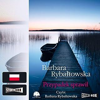 Przypadek sprawil audiobook cover art