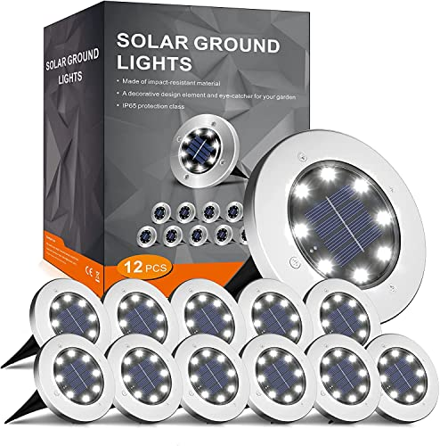 Flowood -   Solar Bodenleuchte
