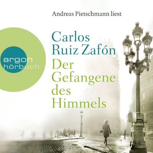 Der Gefangene des Himmels     Friedhof der vergessenen Bücher 3              By:                                                                                                                                 Carlos Ruiz Zafón                               Narrated by:                                                                                                                                 Andreas Pietschmann                      Length: 7 hrs and 26 mins     1 rating     Overall 5.0