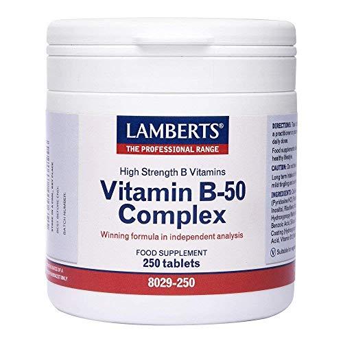 Lamberts Vitamin B-50 Complex - 250 tablets
