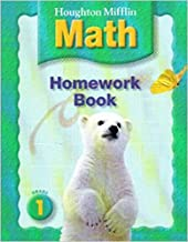 Houghton Mifflin Math: Homework Book (Consumable) Grade 1