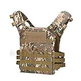 Chaleco Táctico para Exteriores Multifunción MOLLE Expansión Y Conveniente Entrenamiento Militar COS Ejercicios De Combate Chaleco JPC,C