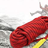<span class='highlight'><span class='highlight'>WYZXR</span></span> Climbing Rope, 10-16mm Portable Outdoor Rock Climbing Mountaineering Safety Rope, Escape Rope, High Altitude Working Rope, Pull-resistant Inner Core