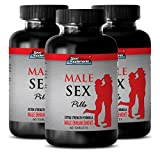 Testosterone Booster for Men Sex Natural - Male Sex Pills - Extra Strength Formula - Male Enhancement - maca Life Supplements - 3 Bottles (180 Tablets)