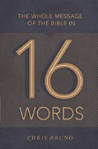 Best the whole message of the bible in 16 words Reviews