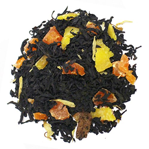 The Tea Farm - Mixed Guava Papaya - Premium Tropical Hawaiian Loose Leaf Black Tea Blend (2 Ounce Bag)