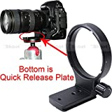 Precisione CNC machined Lens Support collare treppiede per Nikon AF 80–400mm f/4.5–5.6d ed VR e Nikon AF-S 300mm f/4D if-ed–Piastra inferiore è camera Quick Replease Feature