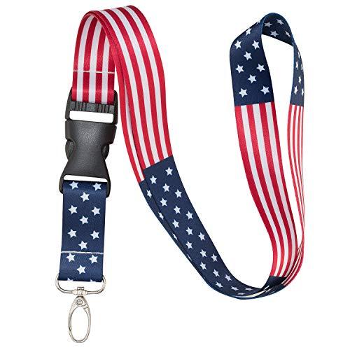 American Flag Lanyard (Classic)
