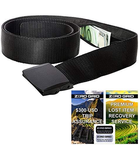 Travel Security Belt - Hidden Money Belt, Anti Theft Travel Belt TSA Approved