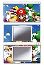 Super Mario 3D World Game Skin for Nintendo DS Lite Console