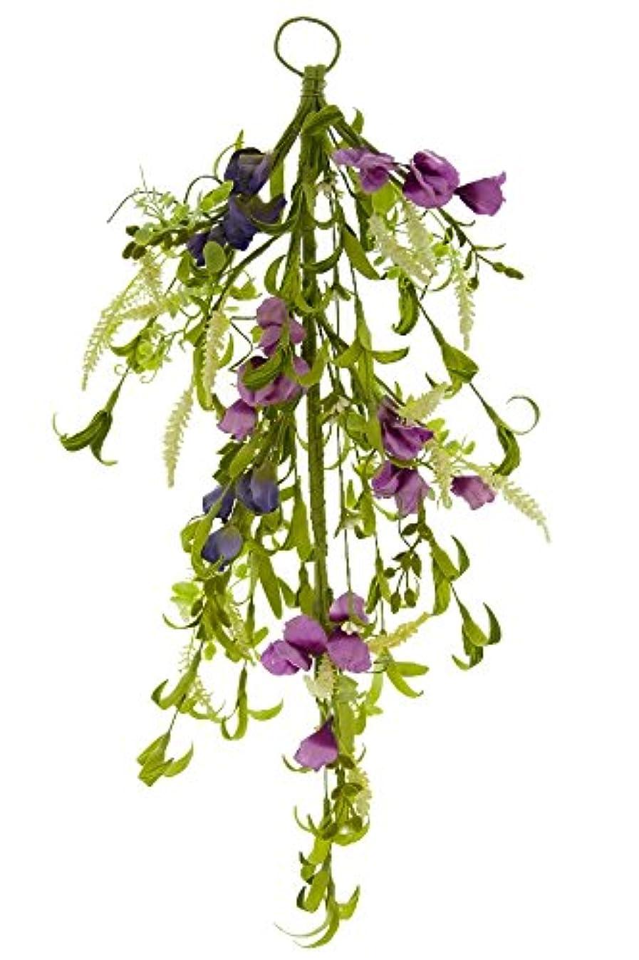 Renaissance 2000 Purple Door Swag Wild Flower, 22