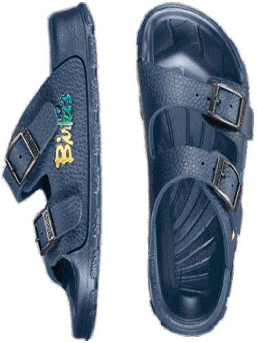 BIRKIS Haiti Bade-Sandalen BF, Basic Navy, Größe 26 mit schmalem Fußbett