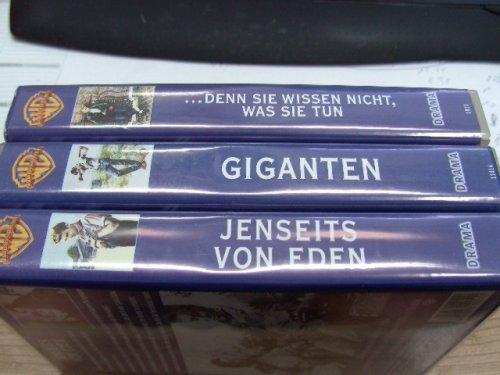 James Dean - 3 Videos - .... Denn sie wissen nicht, was sie tun ~ Giganten ~ Jenseits von Eden