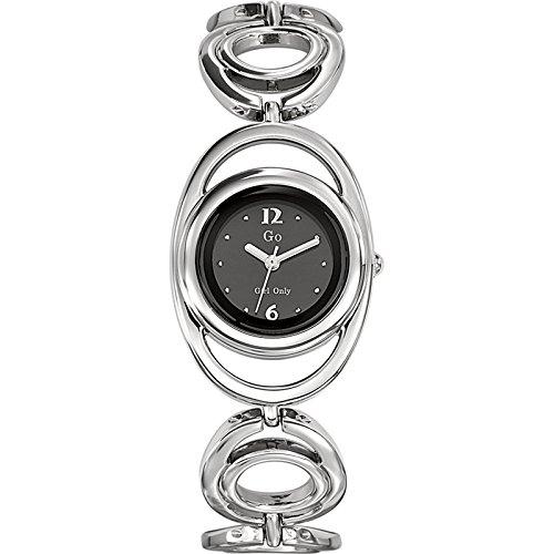 Go Girl Only 694826 - Reloj de Pulsera Mujer, Metal, Color Plateado