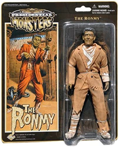 en linea Ronmy - Presidential Presidential Presidential Monsters - Ronald Reagan as the Mummy - 8 1 4 tall fully poseable action figure with cloth costume by Heroes In Action Toys - Presidential Monsters  descuento de ventas