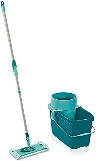 Leifheit Set Clean Twist System M, lave-sol avec molleton ultra doux, seau essoreur d'une capacité de 20 litres, kit de la...
