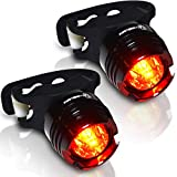 Stupidbright SBR-1 Rear Bike Tail Light Strap-On LED Micro...