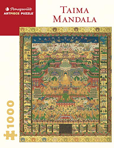 Taima Mandala 1000-Piece Jigsaw Puzzle (Pomegranate) 20' x 27'