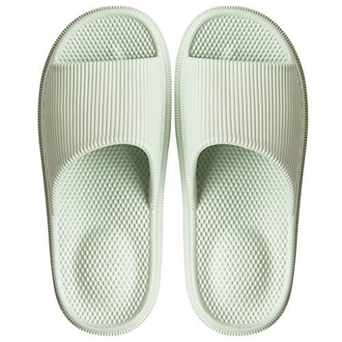 Zapatillas para Ducha Zapatillas de ducha Zapatillas de agua Hogar de verano Zapatillas de hombre y mujer Sandalias de baño casual antideslizante Zapatillas de interior para pareja Suelas de masaje có