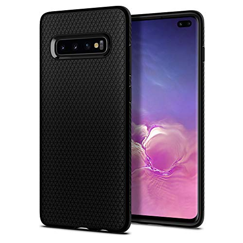 Spigen Cover Liquid Air Compatibile con Samsung Galaxy S10 Plus - Nero